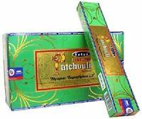 Satya Nag Champa Natural Patchouli Räucherstäbchen 180g Gratis Versand