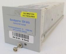 Wandel & Goltermann Bandsperre Bandstop Filter RSS-534 [ 534 Khz ]