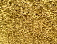 DONGHIA Rugoso Puckered Chenille pera golden  Spun Rayon soft 4+ yards New