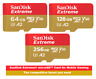 SanDisk Extreme Micro SD SDXC Card 64GB/128GB/256GB for Mobile Gaming A2 AppPef