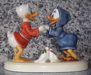 "Goebel Disney Figur ""Donald und Daisy"" * Rarität * Goebel Archivstück !"
