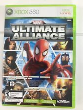 Xbox 360 Marvel Ultimate alliance Forza Motorsport 2 Game Racing Superhero