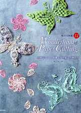 Wonderland of Paper Cutting Kirigami Arts - Japanese Craft Book