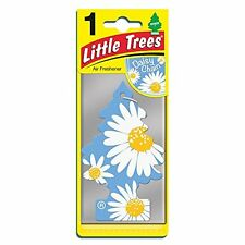 Little Tree Fresh Scented Car & Home Hanging Air Freshener - Flower Daisy Chain