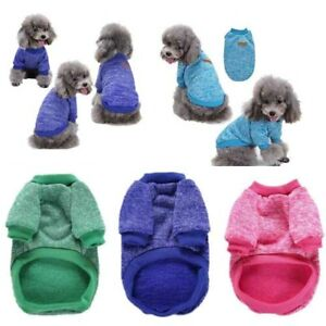 Puppy Winter Sweater Cotton Warm Hoodie Cat Dog Jacket Pet Coat Clothes Apparel