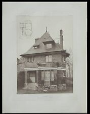 VILLA A ENGHIEN - 1910 - PLANCHE ARCHITECTURE - 35 AVENUE DE LA CEINTURE, SOREL
