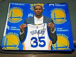 KEVIN DURANT KD GOLDEN STATE WARRIORS SIGNED AUTOGRAPH 8X10 PHOTO PROOF PIC NETS