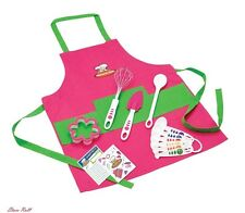 Chef Kit Kitchen Cooking Set Baking Gift Supplies Kids Home Utensils Apron NEW