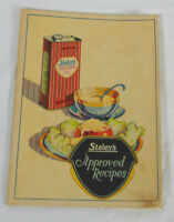 Staley's Approved Recipes Pamphlet Staley's Products From Corn