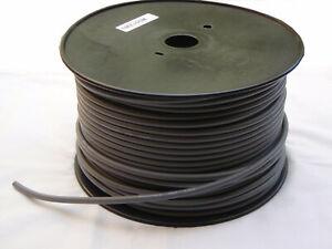 DMX cable - 100m roll, 2 core + earth - black