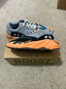 Adidas Yeezy Boost 700 Wash Orange SKU GW0296 Size 9.5 *DEADSTOCK*