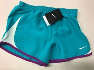 NEW GIRLS NIKE DRI FIT RUNNING SHORTS SIZE SMALL, NWT 716734 312