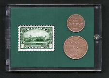 1910 - 1935, Windsor Castle,  Canada, Stamp & Coins Set