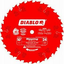 "1 X FREUD DIABLO  D1024X 254MM 10"" 24T CIRCULAR SAW BLADE VERY TOP QUALITY"
