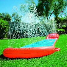 NEW BESTWAY 5.5m H20 GO WATER SLIP AND SLIDE INFLATABLE GARDEN GAME - WITH RAMP