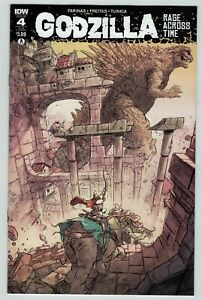 Godzilla Rage Across Time 4 subscription cover IDW Comics 2016 VF NM