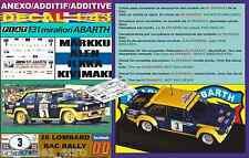 ANEXO DECAL 1/43 FIAT 131 ABARTH M.ALEN RAC 1977 (01)