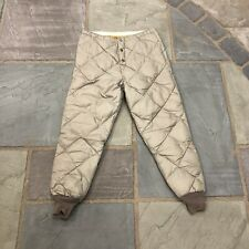 Vintage Eddie Bauer Goose Down Insulated Puffer Quilted Pants Mens Medium M