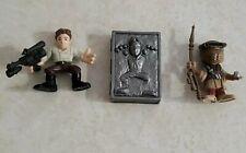 Star Wars Galactic Heroes LEIA BOUSHH & CARBONITE HAN SOLO figures 2-Pack set