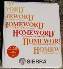 Homeword 400/800/XL/XE Disk NIB New