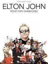 Elton John Rocket Man: Number Ones Sheet Music Piano Vocal Guitar Song 000306896