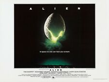 Alien movie poster print - Ridley Scott, Sigourney Weaver 12 x 16 inches