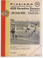 DDR-Liga 79/80 ASG Vorwärts Dessau - BSG Chemie Böhlen (23.03.1980)