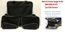 PANNIER LINER BAGS INNER BAGS SIDE& TOP BOX BAGS FOR BMW K1600GT &GTL EXPANDABLE