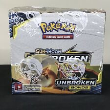 Pokémon Sun & Moon Unbroken Bonds Booster Box 36 Packs PLEASE CHECK PHOTOS