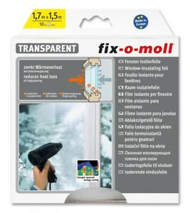 Fenster-Isolierfolie 1,7m x 1,5m fix-o-moll