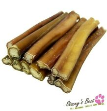 "PREMIUM 6"" inch BULLY STICKS FOR DOGS EXCELLENT DOG CHEW AND DOG TREAT (10 pcs)"