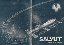 SALYUT ORBITAL STATIONS-1975 NOVOSTI PRESS BROCHURE