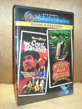 Cry of the Banshee/Murders in the Rue Morgue (DVD, 2003, Midnite Movies Doubl...