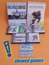 Final Fantasy Ultima RPG Lot VII VIII IX 7 8 9 Anthology Guides PS1 PlayStation