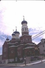 historic structures-Churches-St.Mary Russian Orthodox @ Coaldale Pa.Fuji slide