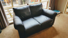 2 Seater leather lounge - super comfy