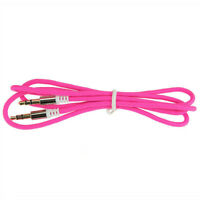 1PC 1M 3.5mm Male to Male Car Aux Auxiliary Cord Stereo Audio Cable For Phone