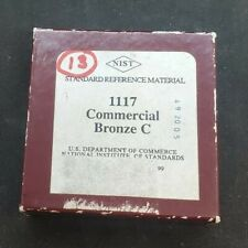 Nist Standard Reference Material 1117 Commercial Bronze C