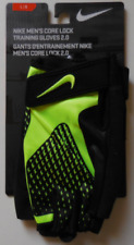 Nike Core Lock Training Gloves 2.0 Black/Volt Men's Large