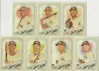 MIAMI MARLINS 2018 Topps Allen & Ginter MASTER TEAM SET w/ 3 SPs (7 Cards)