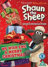 SHAUN THE SHEEP - WE WISH EWE A MERRY CHRISTMAS - DVD - REGION 2 UK