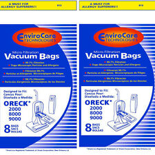"""Oreck """"XL"""" Vacuum Cleaner Bags PK80009DW without Dockin"""