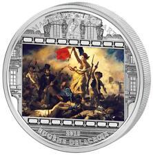 Cook Islands 20 $ Masterpieces of Art 2013 Delacroix - Liberty Leading People