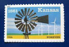 Sc # 4493 ~ Forever Stamp ~ Kansas Statehood, 150th Anniversary Issue (bh22)