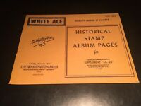 White Ace Stamp Album Supplement Pages  - Canada Commemorative 1978 CC-23