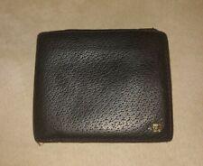 Black Versace Medusa Vintage Bifold Wallet