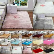 Fluffy Rugs Anti-Skid Shaggy Area Rug Home Living Roon Bedroon Floor Carpet Mats