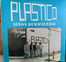 PLASTICO Ninos Durmiendo rock from Chile 1986 sealed LP Mint