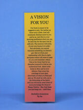 SOBRIETY BOOKMARK - A VISION FOR YOU