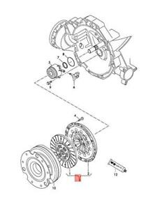 Genuine AUDI A6 Avant S6 quattro Clutch Plate And Pressure Plate 0CS141015E
